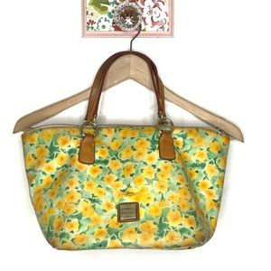 Dooney & Bourke Flower Coated Canvas Hangbag